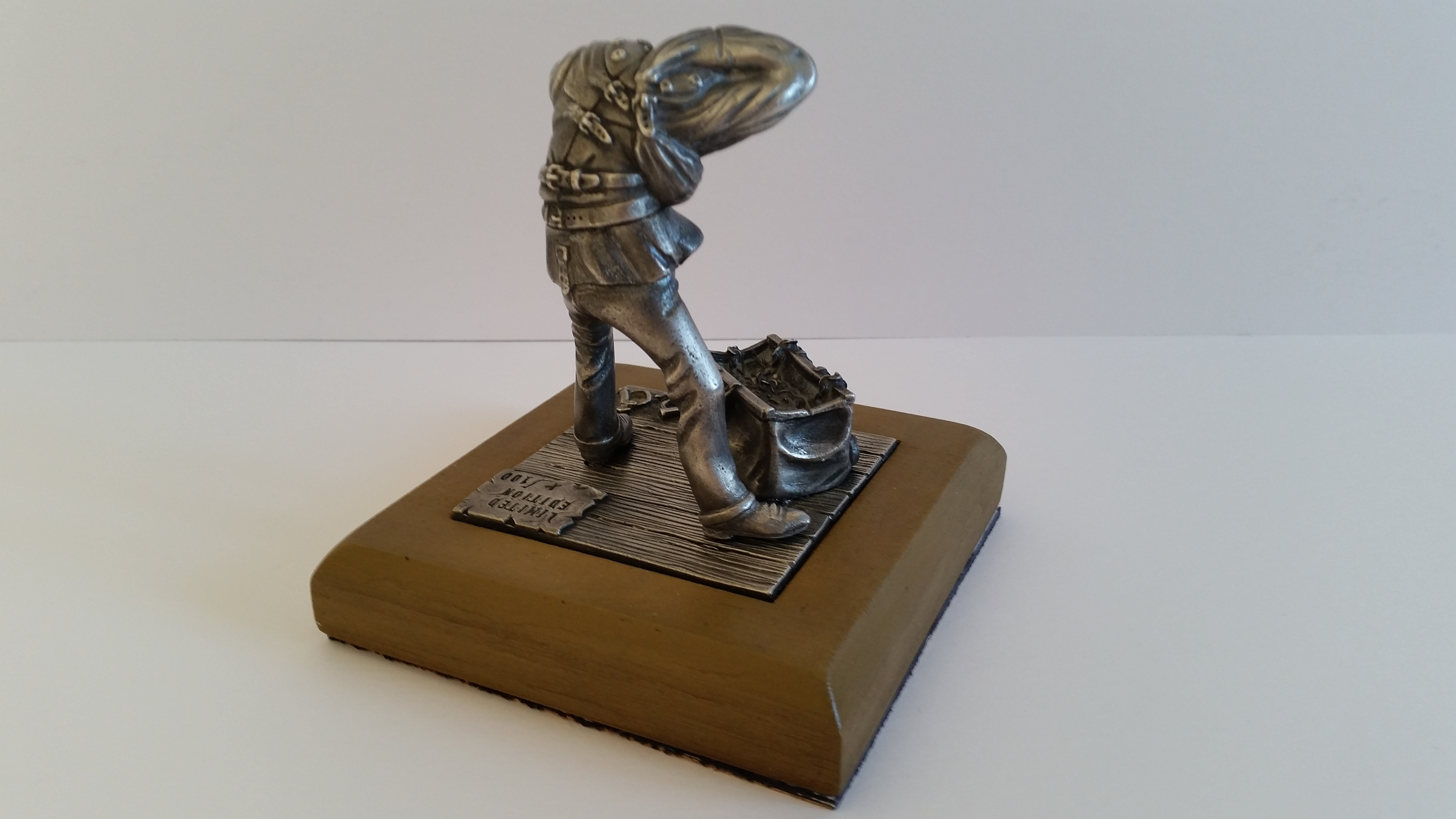 """""""The Escapologist"""" Fine English Pewter Limited Edition (of"""